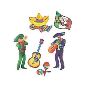 Mariachi men cutouts