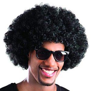 Afron wig - black