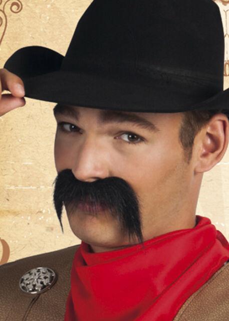 Wiold west moustache