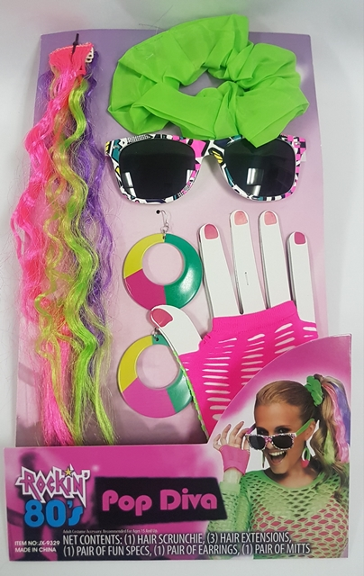 Pop Diva accessory kit