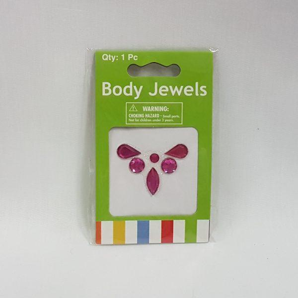 Body jewels - pink gems