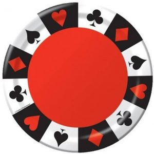 Card night side plates