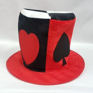 Card suit top hat