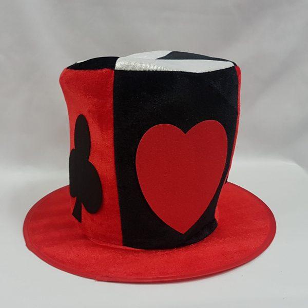 Card suit top hat