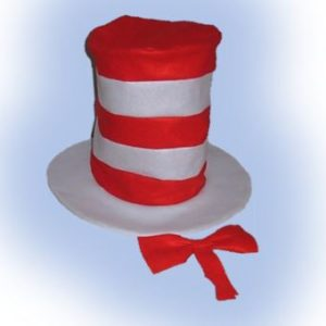 Cat in the hat top hat & bowtie