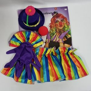 Colourful clown kit