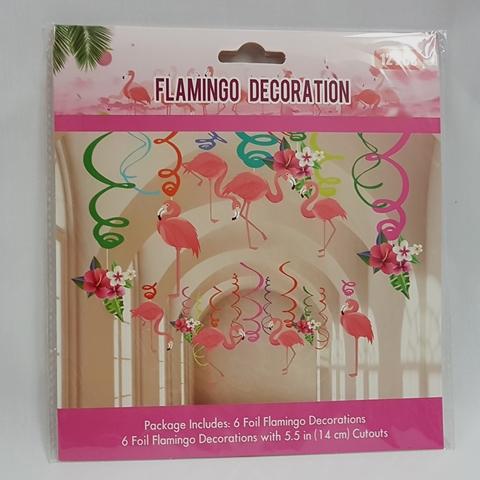 Flamingo whirls