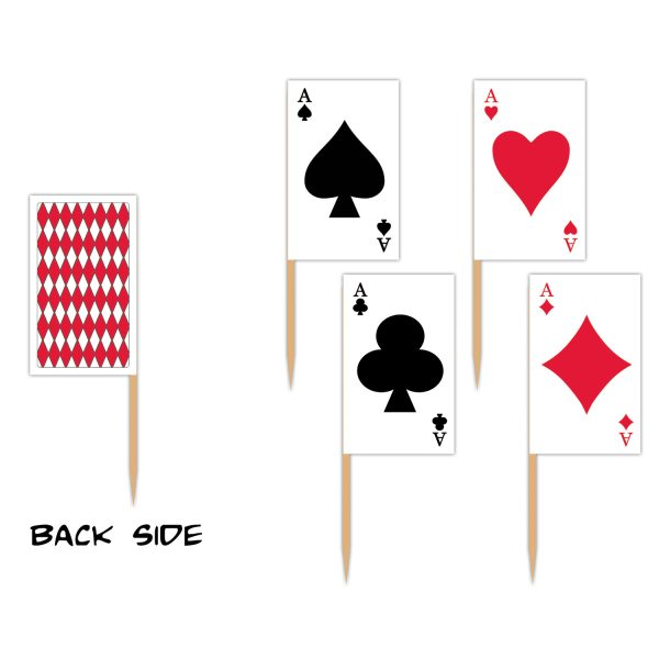 Playing card picks