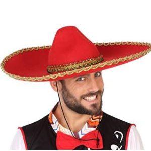 Red Mexican Sombrero