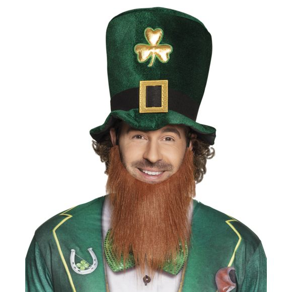 St Patrick's day hat with beard
