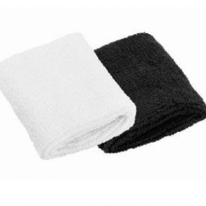 Toweling wristbands