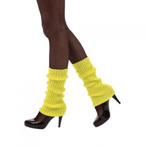 Yellow leg warmers