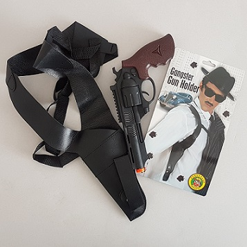 Shoulder gun & holster