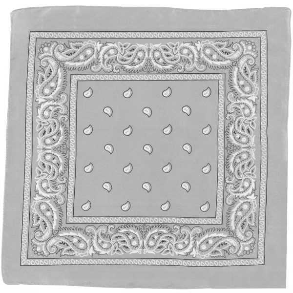 Grey bandana