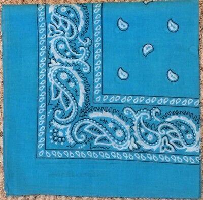 TUquoise bandana