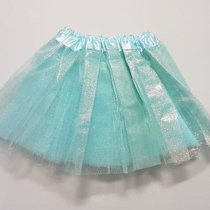 Blue sparkle skirt