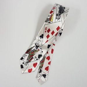Card suit tie
