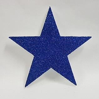 Glitter poly star