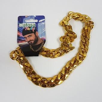 Gold pimp chain