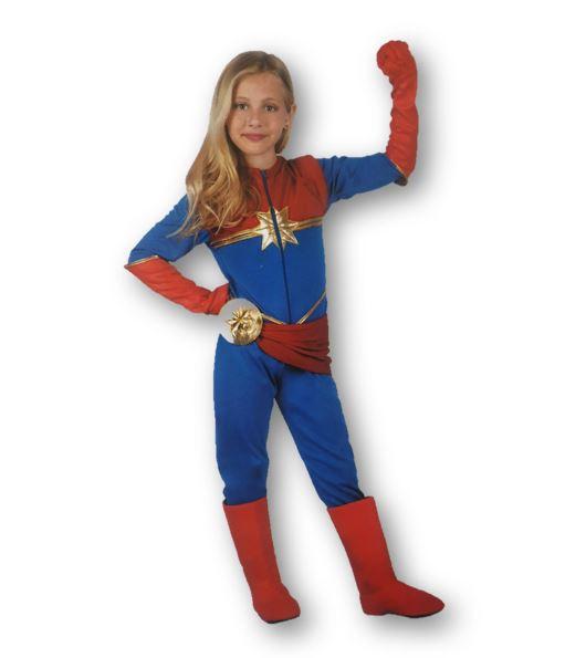 Hero girl children's costume