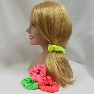 80's hair scrunchies
