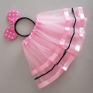 Pink Minni mouse set