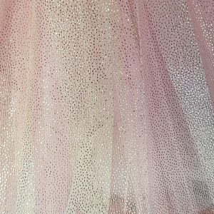 Sparkle skirt pink close up