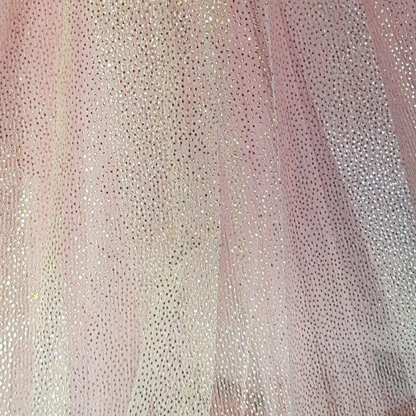Sparkle skirt pink close up