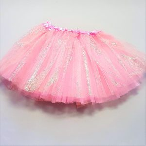 Pink sparkle skirt