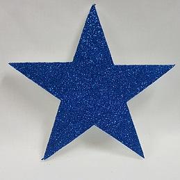 Polystyrene glitter star