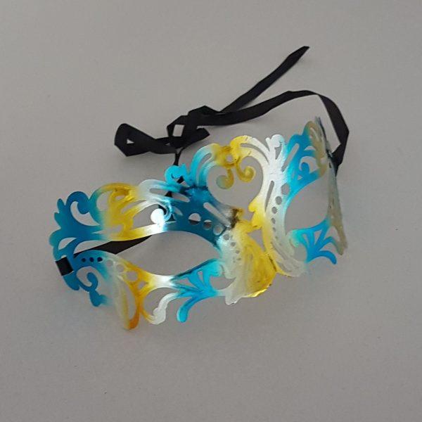 Carnival laser cut mask
