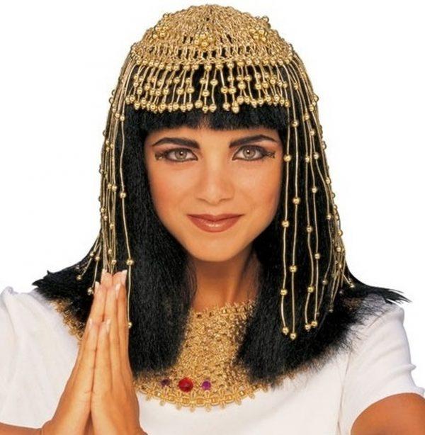 Beaded Egyptian headpiece