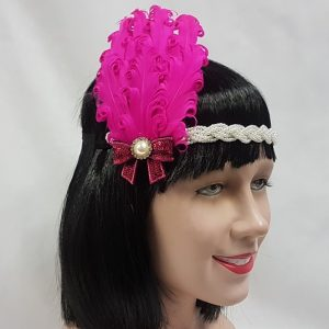 Flapper headdress