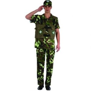Soldier costume adult