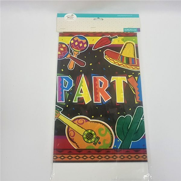 Fiesta party table cover