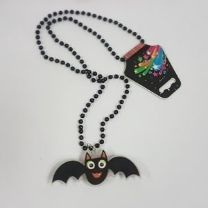 Bat necklace with lights