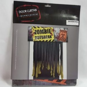 Door curtain Zombie Outbreak