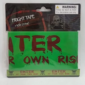 Halloween party tape