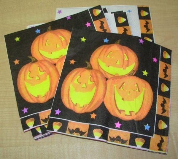 Halloween napkins