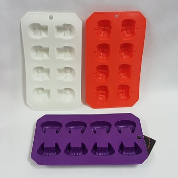 Halloween themed ice trays