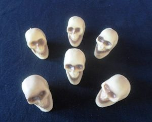 Pack of small skulls
