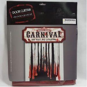 Door curtain creepy Carnival