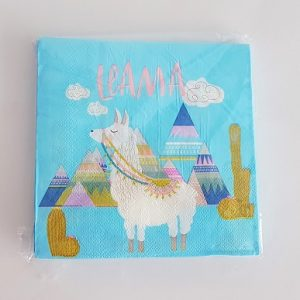 Llama napkins