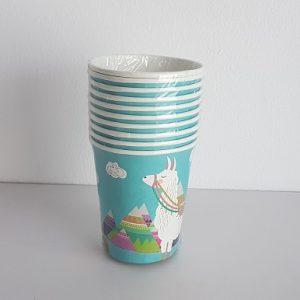 Llama paper cups