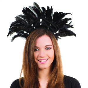 Black Carnival headdress