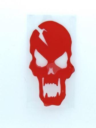 Bloody gel skull