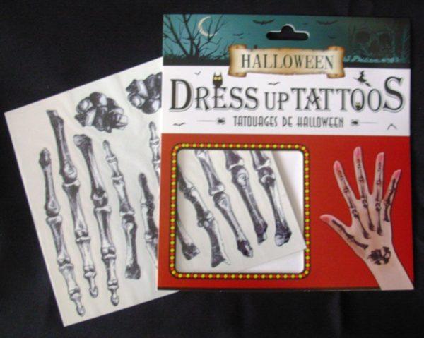 Bone hand tattoos