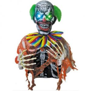 Clown ground breaker with light up eyes