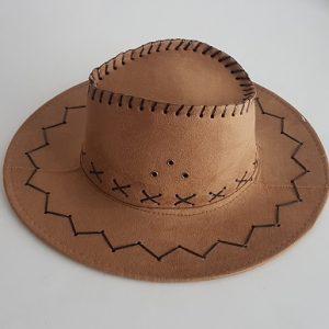 Cowboy hat - coffee color