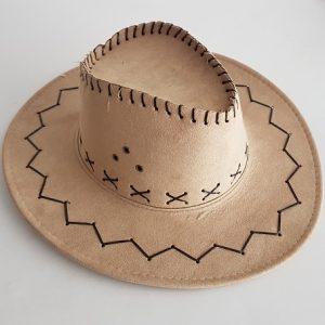 Cowboy hat - mid beige